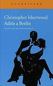 Adiós a Berlín par Isherwood