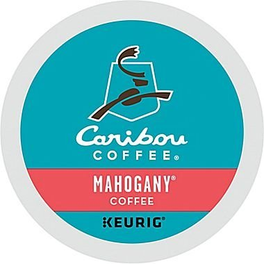 Caribou Mahogany Blend Single Serve Coffee K-Cups, 48-Count For Brewers