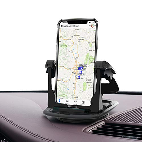 - Car Phone Mount Dashboard Cell Phone Car Holder 360 Rotation Universal Washable Strong Sticky Gel Pad Car Cradle Clamp for iPhone XS MAX XR X 6S 7 8 Plus for Samsung Galaxy Note 9 S8 S9,GPS,Smartphone