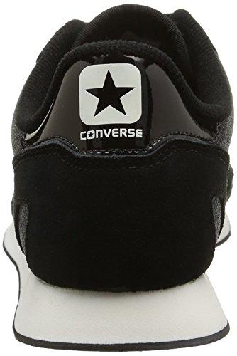 Converse Auckland Racer Ox Tex/Sue Glit Herren Sneaker schwarz (Black Glam)
