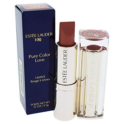 Estee Lauder Pure Color Love Lipstick, 100 Blase Buff, 0.12 Ounce