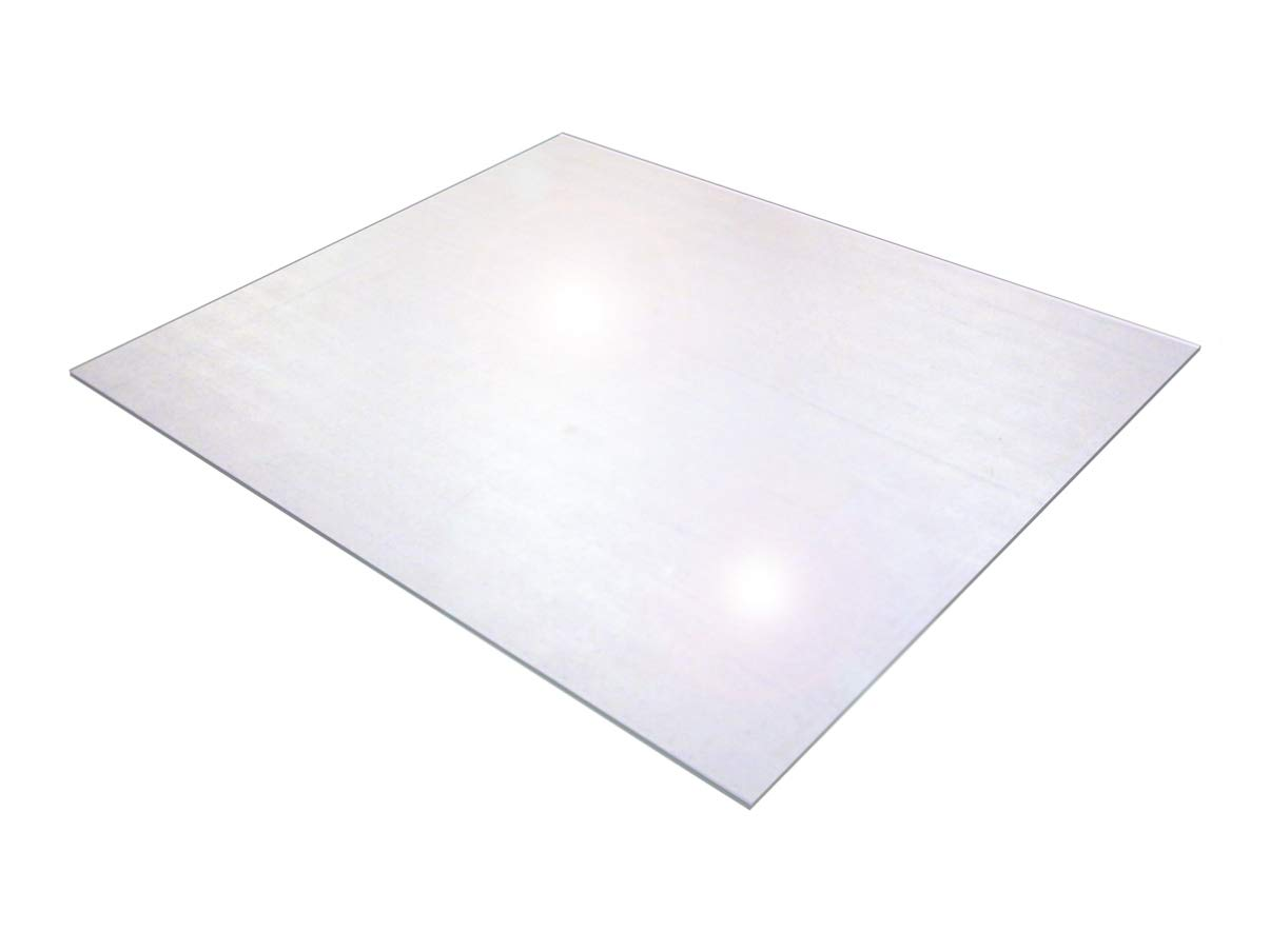 Cleartex XXL General Purpose Office Mat, for Hard Floors, Strong Polycarbonate, Rectangular, 71'' x 79'' (FR1218020019ER)