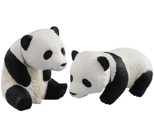 Ania Animal Adventure AS-23 Baby Giant Panda 2pcs Action Figure
