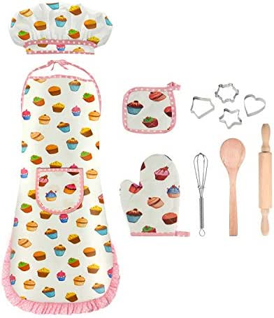 KITY Cooking and Baking Set for Kids -Best Gifts