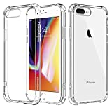 For iPhone 7 Plus Case/iPhone 8 Plus Case, MoKo Crystal...