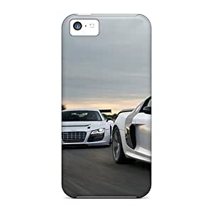 MMZ DIY PHONE CASEDurable Cell-phone Hard Cover For ipod touch 4 With Custom Colorful Audi R8 Series JacquieWasylnuk