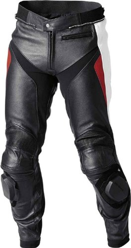 BMW Genuine Motorcycle Motorrad Sport 2 pants, men's - Color: Black / White / Red - Size: EU 54 US 44