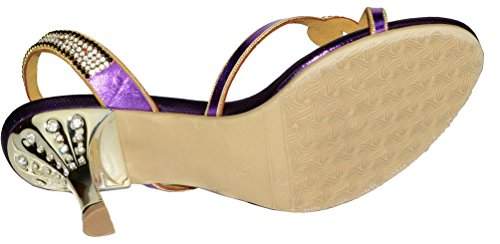 Abby Mn-l026 Donna Ragazza Dolce Bella Nuova Moda Festa Di Nozze Lavoro Strass In Pelle Scamosciata Sandali Con Tacco Medio Pantofole Scarpe Nere