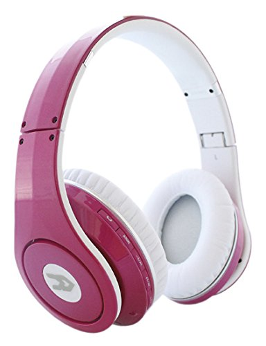Avenzo AV611RS - Auriculares con Bluetooth, color rosa: Amazon.es: Electrónica