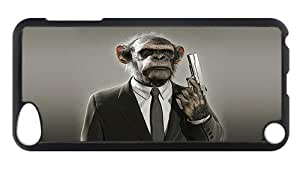 iPod Touch 5 Case, No Monkey Business Rugged Case for iPod Touch 5/ /iPod 5/ iPod 5th Generation PC Materia Plastic Case Black
