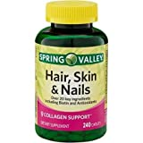 Best Spring Valley Vitamins For Hairs - Spring Valley - Hair, Skin & Nails, Over Review