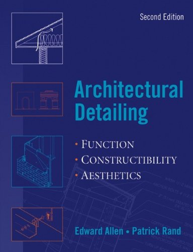 architectural detailing function constructability aesthetics