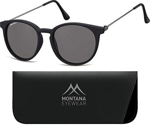 Smoked de Montana Sol Black Lenses Unisex Gafas Multicolor Adulto Px0Oqwx