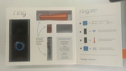 Brand New/Sealed Ring Wi-Fi Smart Video Doorbell with Installation Tools (Venetian Bronze) by Ring_Doorbell (Image #4)