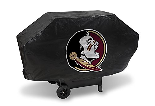 Rico NCAA Florida State Seminoles Deluxe Vinyl Padded Grill Cover, Black by Rico