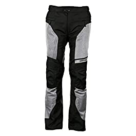 TVS Polyester Riding Pants – Level 1 (Neon Line, XL)