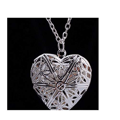 - N830 Hollow Heart Pendant Necklaces Fashion Jewelry Love Collares Geometric Charm Necklace Bijoux 2019