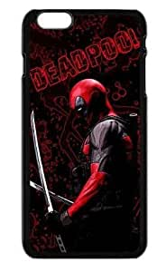 Alexgeorge Deadpool Custom Phone Case Cover For Apple Iphone 6 Plus(5.5 inch)