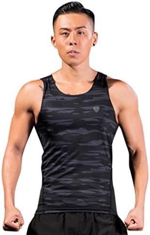 タンクトップ メンズ スポーツウェア 加圧 吸汗速乾 アクティブウェア 筋トレ ボディビル 夏 トレーニングウェア ノースリーブ トップス スポーツtシャツ 大きいサイズ