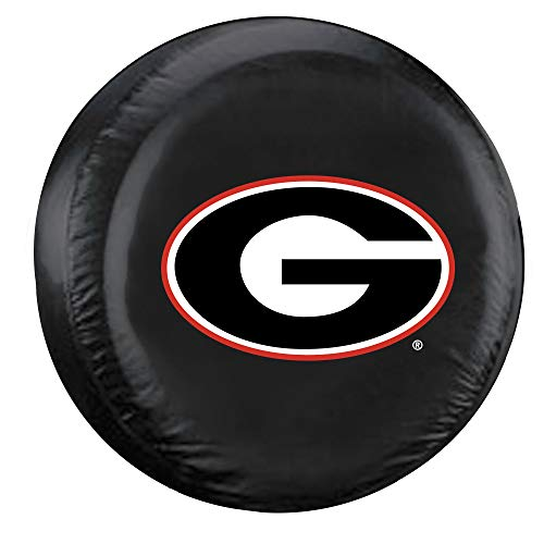Fremont Die NCAA Georgia Bulldogs Tire Cover, Large Size (30-32