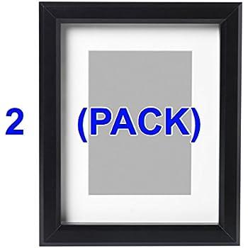 Amazon.com - IKEA Photo Picture Frame- Black Gunnabo 5x7 Inch (2) Pack -