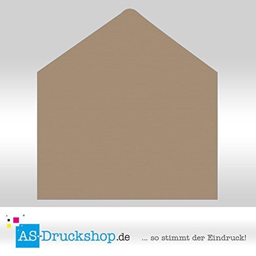 Briefumschlag   KuGrün DIN C4  Taupe  - 50 Stück