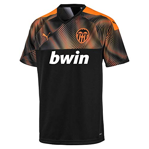 PUMA VCF Away Shirt Replica Maillot, Hombre, Black-Vibrant Orange, M: Amazon.es: Ropa y accesorios
