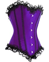 Muka Women's Purple Fashion Corset, Valentine's Gift Idea