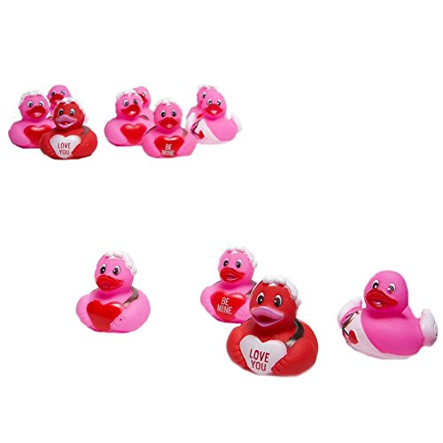 12 Cupid Rubber Ducks