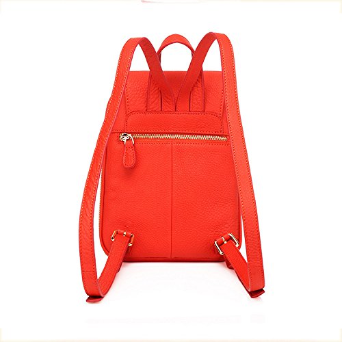 Couleur Orange Classique Femme Simple Gland Sac KYOKIM à Zipper Multifonction PU Loisirs Dos wI7Xnx