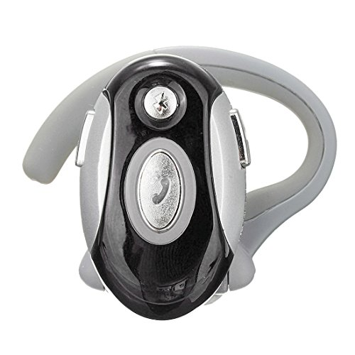 SODIAL(R) Business Handsfree Mono Earphone Wireless Bluetooth Headset For Motorola HTC, (Motorola Bluetooth Mono Headset)