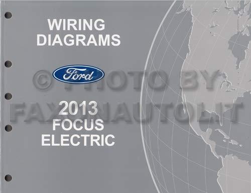 2013 ford focus electric wiring diagram manual original - all electric plug-in  paperback – 2013
