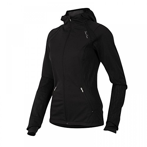 Pearl Izumi Women's Fly Softshell Run Hoody, Black, X-Small (Fly Run Shell Soft)