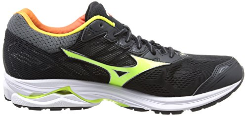 Nero Osaka da White Yellow Uomo 21 Safety Rider Scarpe Running Mizuno Wave Black qw8ZxO