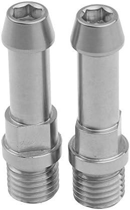 Bicycle Titanium Ti Brake Post V-Brake V Brake Bosses M10X1.25 /& M6X16mm 2Pcs
