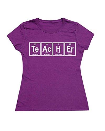 P&B Women's T-shirt Teacher Periodic Table Element
