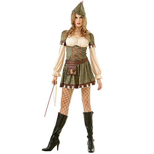 Women's Lady Robin Hood | Fun, Sexy Halloween Costume, S]()