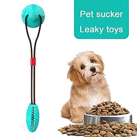 Goglor Pelota de cuerda para perro con ventosa, juguete ...