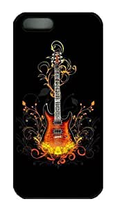 3D Guitar discount iphone 5 case PC Black for Apple iPhone 5/5S by Maris's Diary