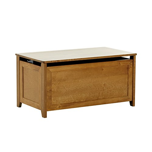 37.75 in. Toy Box in Pecan Finish by NE Kids