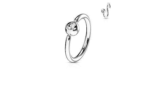 Pair of Huggie Earrings Lined Square Gems Set Front PVD Stainless Steel Hoop