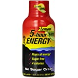 5 Hour Energy, Lemon-Lime, 57 mL (Pack of 12)