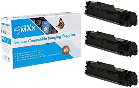 CRG-104J/_3PK 3//PK-4000 Page FX-10 SuppliesMAX Compatible Replacement for Canon MF-4010//4130//4150//4370//4380//6570 Jumbo Toner Cartridge