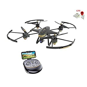 GPS FPV RC Drone FX-22G with Camera Live Video and GPS Return Home Quadcopter with Adjustable Wide-Angle 1080P HD WIFI Camera- Follow Me, Altitude Hold, Aerial Photography Beginner Drone