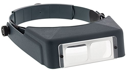 - Donegan OptiVISOR LX Binocular Magnifier-Lensplate #4 Magnifies 2X At 10