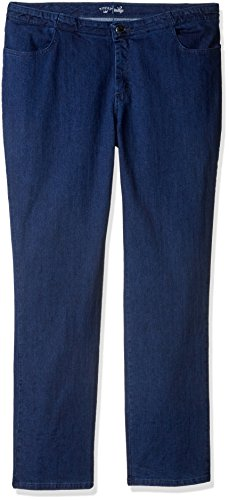 (Riders by Lee Indigo Women's Tall Plus Size Comfort Collection Straight Leg Jean, Cobalt, 20L)
