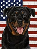 Cheap Rottweiler – Best of Breed Patriotic II Large Flags