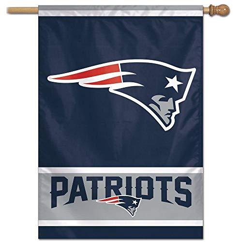 Bandeira Vertical 70x100 Logo Team New England Patriots