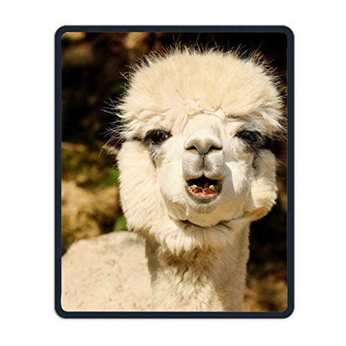 Alpaca Laughs Mouse pad Gaming Mouse pad Mousepad Nonslip Rubber Backing