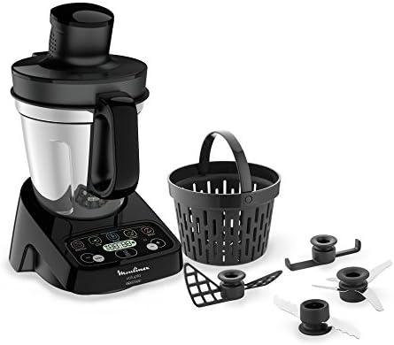 Moulinex volupta Robot olla multifunción y Compact con báscula de cocina, 3 liters, Negro: Amazon.es: Hogar